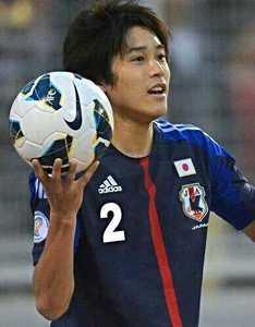 サッカー日本代表内田篤人選手画像