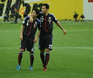 内田篤人と吉田麻也が仲良すぎの画像